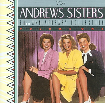 50TH ANNIVERSARY BY ANDREWS SISTERS (CD)
